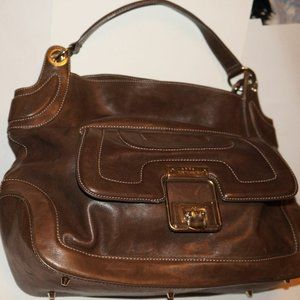 Anya Hindmarch Brown Leather Handbag